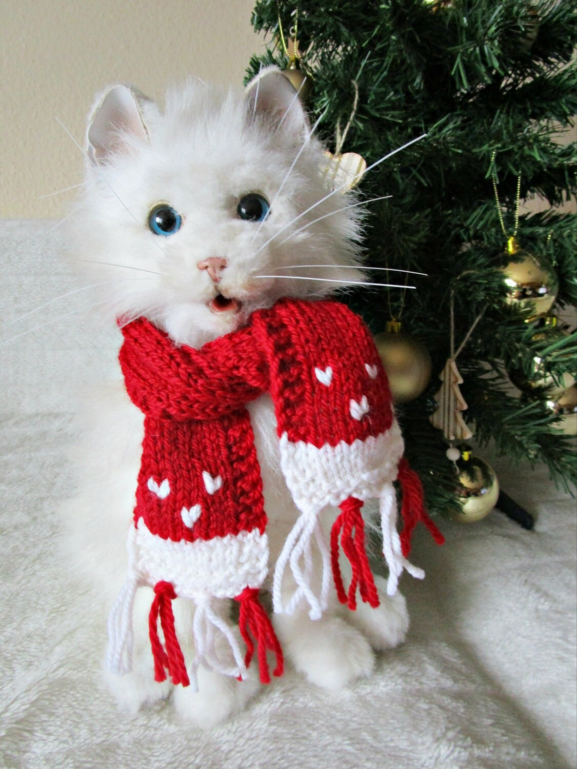pet costume dog christmas scarf for cat pet christmas outfit. Black Bedroom Furniture Sets. Home Design Ideas