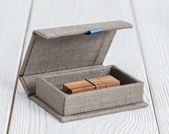 USB box - Handmade box - Wedding packaging