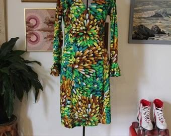 1970s Mid Length dress