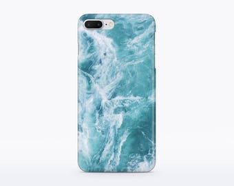 Blue Marble iPhone SE case Turquoise Marble iPhone 7 case iPhone 6S case 4 iPhone case 4s iPhone case for Samsung S4 case S5 case CM90