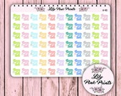 77 Happy Mail Words Stickers H-40 - Perfect for Erin Condren Planner Stickers / Life Planners / Journals / Stickers.