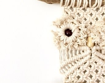 Macrame Owl Wall Hanging | Macrame Wall Hanging | Macrame Hanging | Vintage Wall Decor | Kids Room Decor | Owl Decor | Bohemian Home Decor