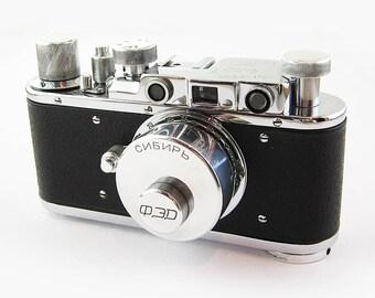FED SIBIR Russian RF 35mm Film Leica Copy Camera Sibiria