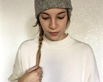Knit Turban Twist Headband Earwarmer | Winter Headband