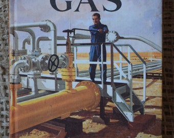 The Public Services Gas. A Vintage Ladybird Book. Series 606E. First Edition