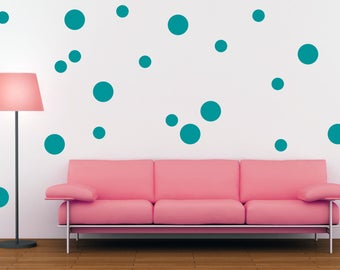 Polka Dot Wall Decal Polka Dot Decal Wall Decor Polka Dot