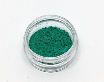 Joan - Mineral Eyeshadow - Turquoise Eyeshadow - Loose Powder - Matte - Half Gram - Vegan, Preservative-Free