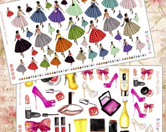 Just the Girls Planner Stickers