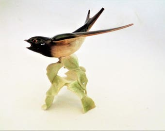 Goebel Bird Figurine, Goebel Sculpture, Goebel West Germany, Goebel Bird Collection, Collectible Figurine, DAMAGED