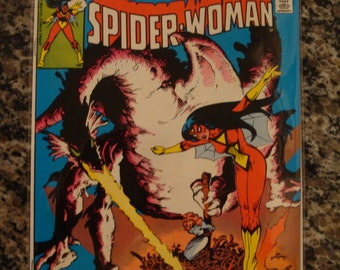 Spider Woman Issue 41 Marvel Comics 1981