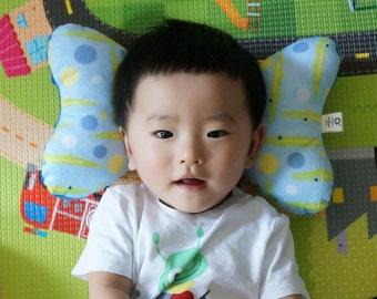 car seat pillow elephant ear pillow infant headrest pillow stroller pillowbaby