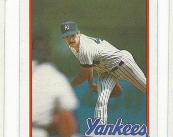 1989 Topps RON GUIDRY New York YANKEES original vintage baseball card no 255 See All the cards I have listed most are 1960s 1970s & 1980s