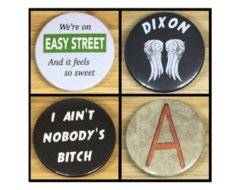 Daryl Dixon badges