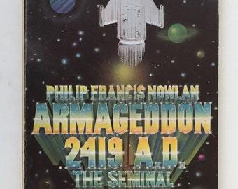 Armageddon 2419 A.D., Buck Rogers Seminal Novel, Science Fiction Book, Phillip Francis Nowlan, Vintage Ace Paperback