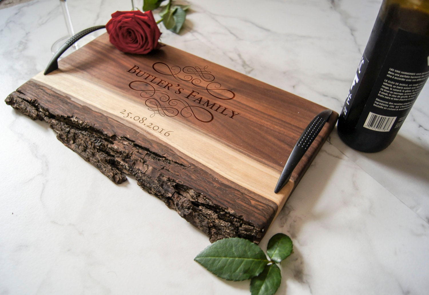 Unique Wedding Gifts Canada: Personalized Serving Tray Custom Serving Tray Wedding Gifts