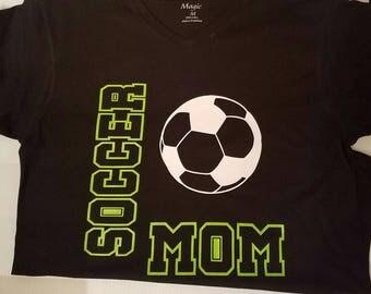 Soccer, Football, Basketball, Softball MOM t-shirt
