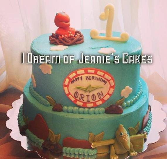 Dinosaur Train Cake Topper Set