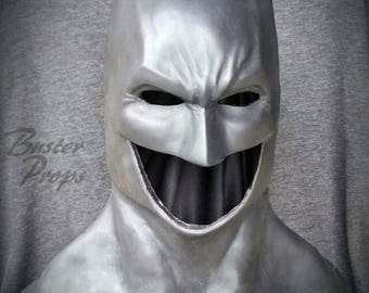 Batman rubber cowl Rebirth Dawn of Justice/Justice league hybrid for cosplay, costume, or halloween - can be made in other colors