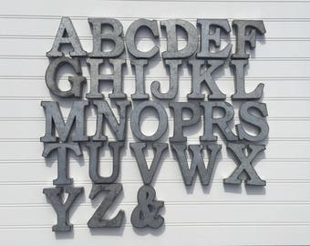 Metal Letters Wall Decor metal letters/wall decor/galvanized metal letters/wall