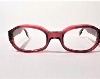 oversized designer eyeglasses 1f74  Vintage 1970's Emmanuelle Khanh Ruby Red Eyeglasses, Oversized Designer  Eyeglass Frames, Large Emmanuelle Khanh Cranberry Eyeglass Frames
