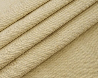 "Rustic Fabric, Natural Fabric, Beige Jute Fabric, Beige Burlap, Sewing Crafts, Home Accessories, 58"" Inch Jute Fabric By The Yard ZJC4A"