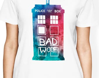 Doctor Who Shirt, Doctor Who Tshirt, Tardis Shirt, Dr Who Shirt - Doctor Who Clothing, Doctor Who Women Shirt, Doctor Who Men Shirt