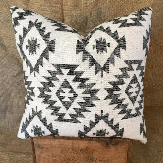 Southwestern Print Throw Pillows : Aztec Print Pillows Southwestern Pillow Cover Navajo Native