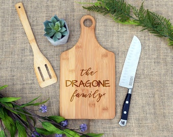 Custom Paddle Board, Personalized cutting board, Cheese Board, Housewarming Gift, Present, Real Estate Closing, Realtor, New House, home