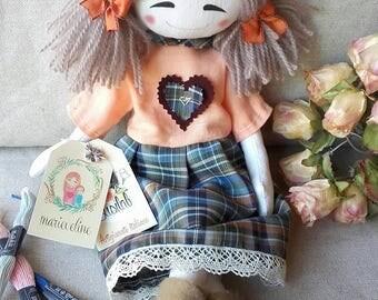 Marieveline original doll: Amélie best friend