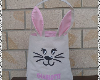 Personalised Easter Bunny/Egg/Hunt Bags