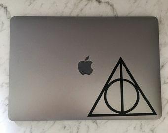 Harry Potter Deathly Hallows Custom Vinyl Decal