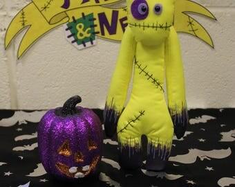 Creepy Doll By Pins & Needles, Creepy Doll, Gothic Doll, Scary Doll, Creepy Cute, Halloween Doll, Creepy Cute Doll, Gothic Present