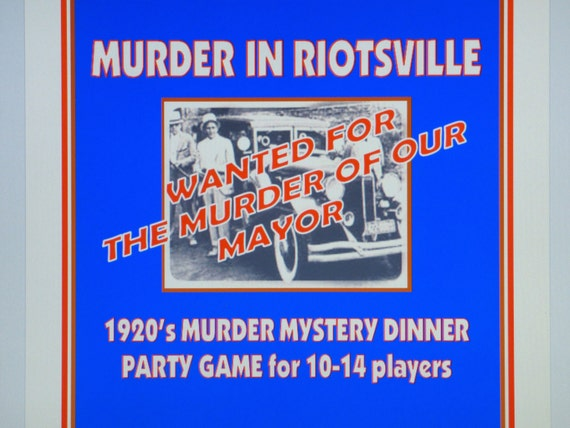 murder mystery dinner party game reviews
