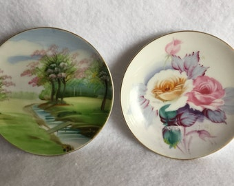 Occupied Japan Trinket Dishes