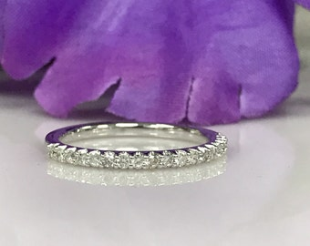Diamond Wedding Anniversary Band 19 Round .30 ctw Ring #4883