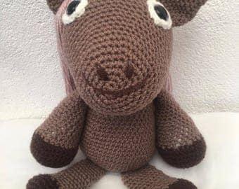 Little Pony in crochet