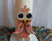 Owl Paper Towel Holder, Wooden Owl Kitchen Decor, Owl Kitchen, Owl Gifts, Owl Decorations, Custom Owl Gifts, Cute Owl, Hand painted Owl