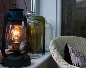 Reclaimed Tilley Lamp - Desk Lamp