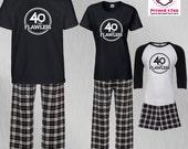 Birthday Pajamas 40 & Fla...