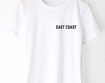 East Coast Embroidered Tee