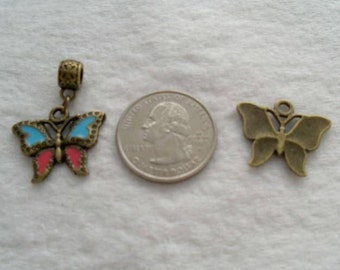 25 mm Butterfly Dangle (1672)