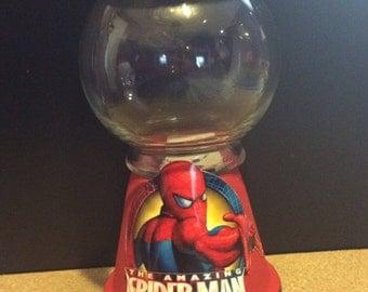 Spider-Man gum ball machine