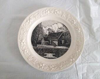 Westmoreland Co, VA Yeocomico Church Plate Homer Laughlin