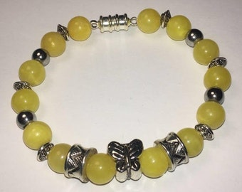 Beautiful and Free -- Yellow with Silver