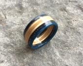7 Ply Recycled Skateboard Ring | Wooden Jewellery Made From Recycled Skateboards