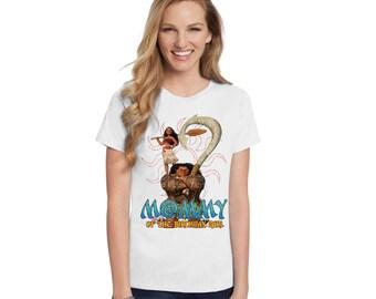 Moanna Birthday T-Shirt - Family Members