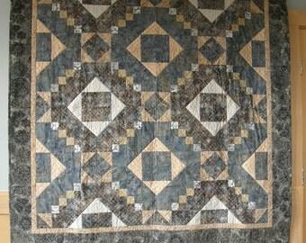 Tapestry Quilt / Throw / Lap Quilt