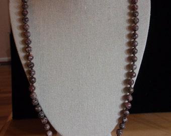 Earthtone Pottery Necklace