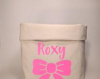 dog toy box, dog toy basket, dog toy storage, dog toy bin, personalized dog bin, pet stirage, pet storage ideas, dog basket custom, dog bag