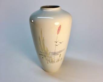 RARE Bareuther Waldsassen porcelain vase | Bavaria, Germany
